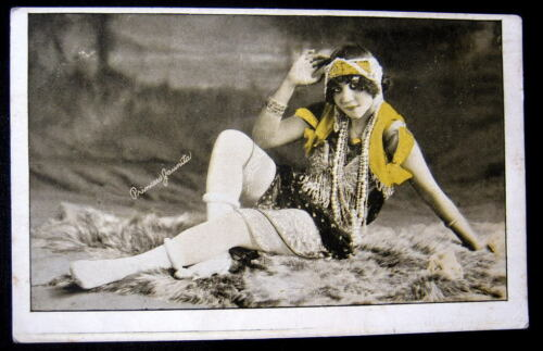 1900's PRINCESS JAUNITA in DARING RISQUE OUTFIT