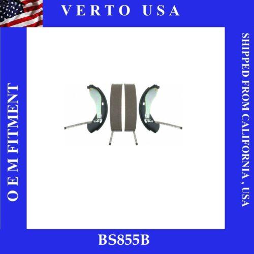 Drum Brake Shoe-Premium Rear Verto USA BS855B  Fit Chevrolet GMC