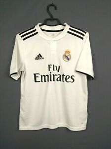 Real Madrid Jersey 13-14 y 2018 2019 Home Shirt Adidas Football CG0554 ig93