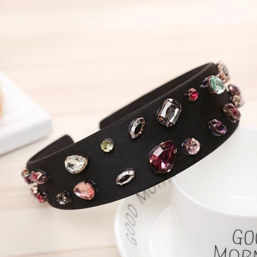 Women/'s Headband Hairband Hair Band Hoop Accessories Crystal Beads Headpiece