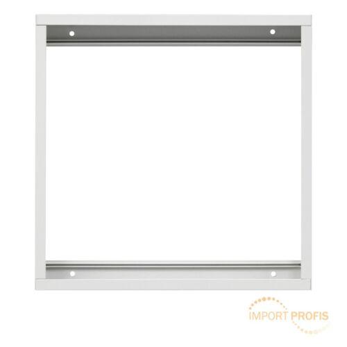 Surface mount frame kit LED panel light ceiling aluminum white 300x300mm surface