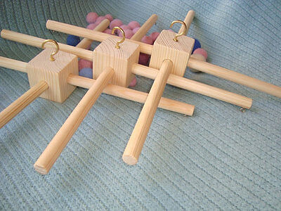 3 wood frames for baby mobiles Free shipping