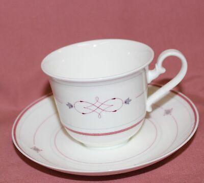 Kaffeegedeck 2 tlg. Villeroy /& Boch Look uni weiß