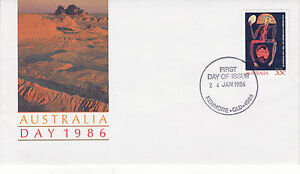 AUSTRALIA-24-JANUARY-1986-AUSTRALIA-DAY-OFFICIAL-FIRST-DAY-COVER-SHS