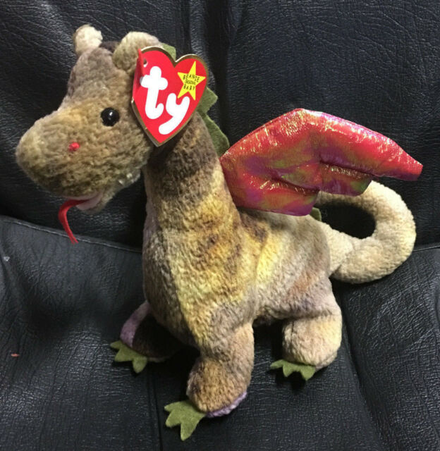 Ty Beanie Baby Scorch The Dragon Complete With Tag for sale online ... b93b049d050