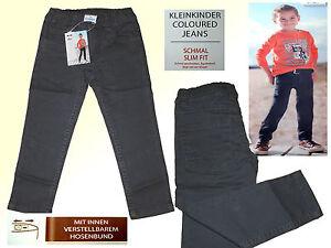 perfekte Qualität zeitloses Design Tropfenverschiffen Details zu moderne graue Kleinkind Jeans Hose Kinderhose Jungsjeans schmal  Gr.74-98 NEU