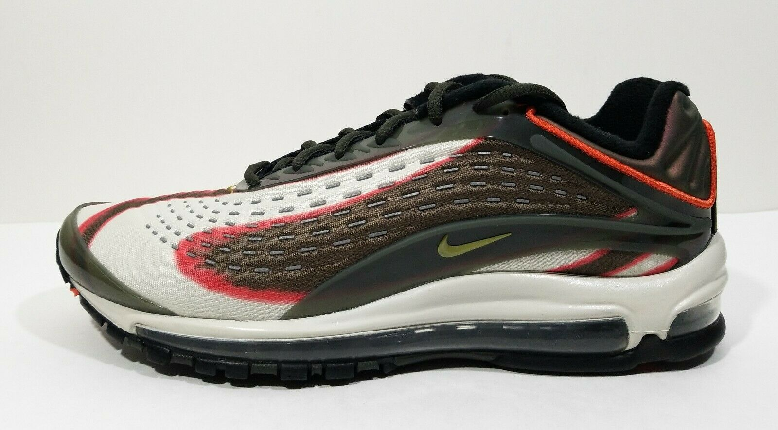 release date: 95c32 39d43 ... Nike Air Max Deluxe OG Sequoia Sequoia Sequoia Mens Running shoes Green  Size 11 7bd8df
