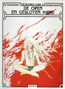Blanke-Lama-5-De-open-en-de-gesloten-Hand-Hardcover
