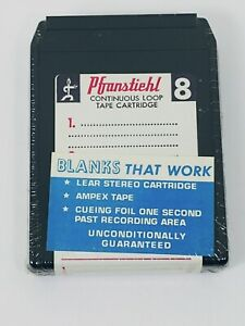 Pfranstiehl-New-Sealed-blank-8-track-tapes-NOS-Read-Notes-35-min-tapes