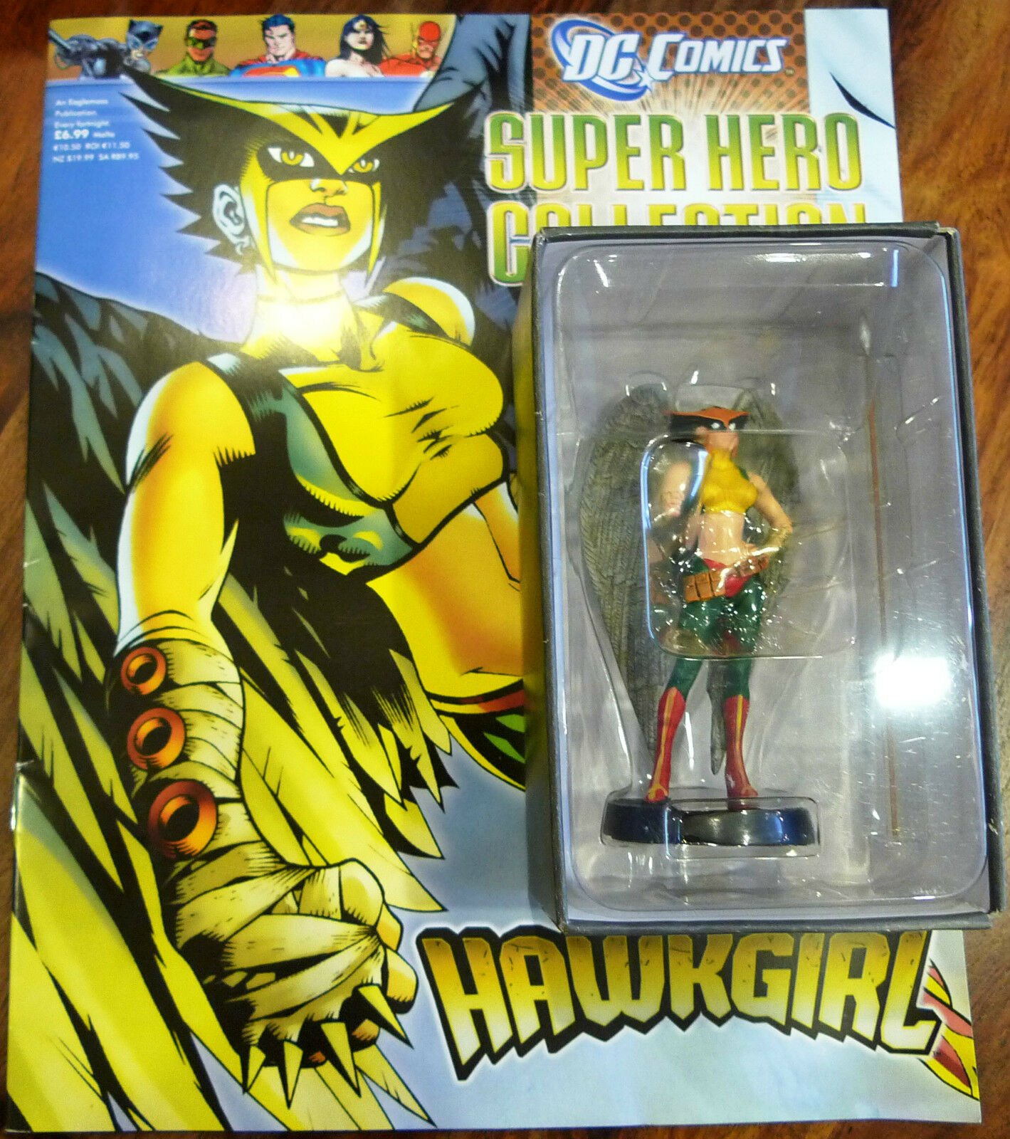 Dc comics superhelden - kollektion frage   63 hawkgirl - eaglemoss' - magazin