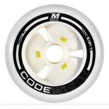 Matter Code White F2 Inline Speed Skate Wheels 110mm