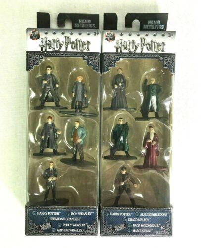 Nano Metalfigs Harry Potter 2 packs of 5 Ron Hermione Drago Dumbledore