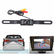 CMOS Auto Car Rear View Reverse Cam Backup Parking System IR Camera Night Vision
