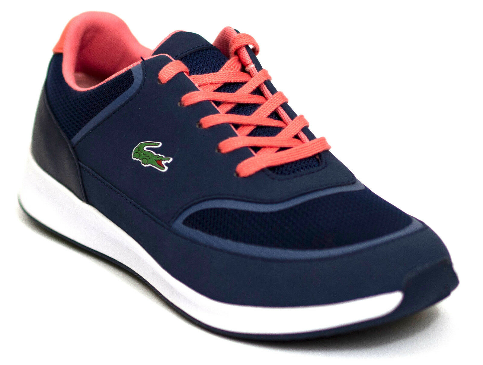 Lacoste Chaumont Lace 316 2 SPW Musthave baskets bleu bleu rose 38 Ortholite NEU