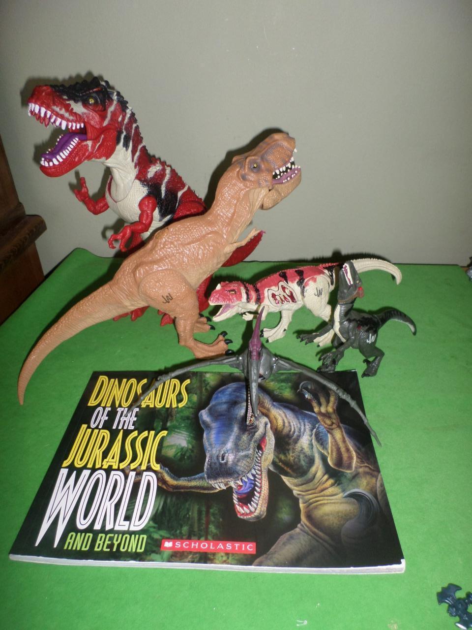 Jurrassic world dinosaurier pteranodon ceratosaurus velociraptor t - rex selten viel