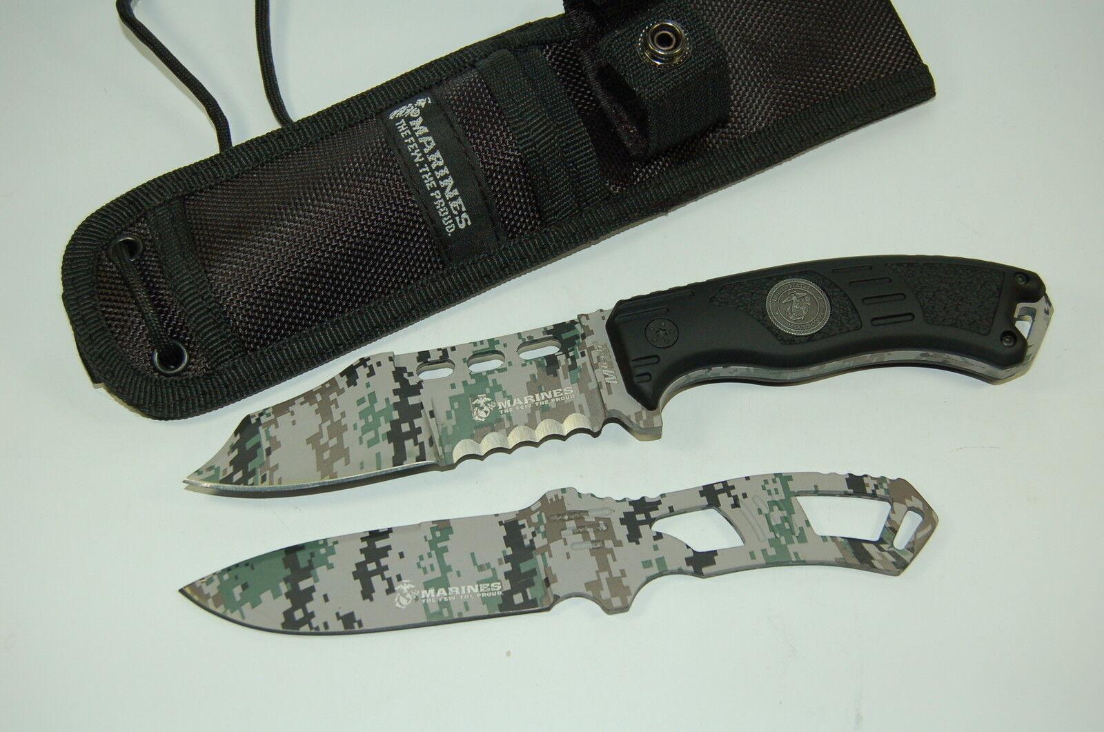 USMC MTech The Grunt Messerset Outdoormesser Jagdmesser USM1032CB EDC Messer