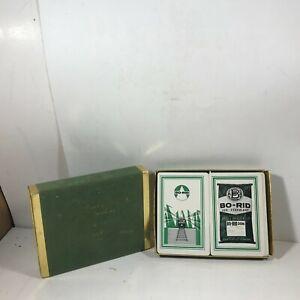 Vintage Advertising Playing Cards BO-RID Weed Brush Killer