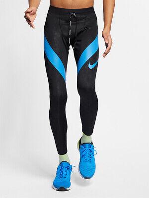 NIKE Power Tech Men's Running Tight Fit AJ7998 010 BlackBlue XL NWT 91201389667 | eBay