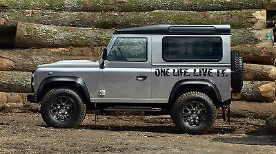 2 X One Life Live It Stickers Camel Trophy 4x4 Off Road Funny Ebay