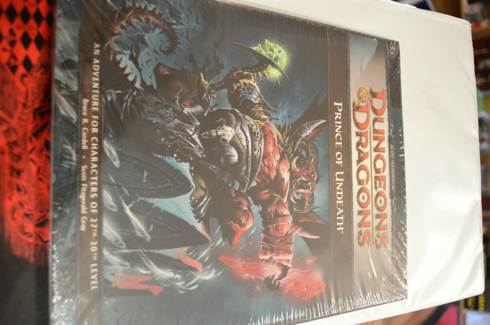D&D Prince of uNDEATH cAMPAIGN ADVENTURE 4th ed brand NEW dungeons & dragons