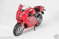 NewRay 1:12 Die Cast Ducati 999 Motorcycle Red Color Model Collection New Gift