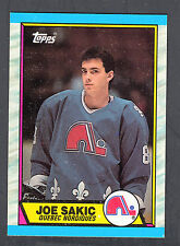 Joe Sakic 1989-90 Topps Rookie Card #113 Nordiques