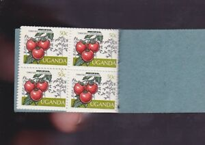 Uganda-Agricultural-Crops-Tomatoes-Stamp-Booklet-10-50-cents-cent-tomato-K-934