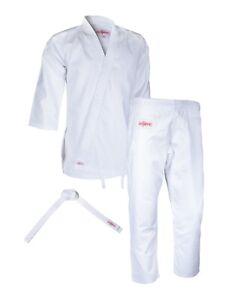Akletic-Karate-Uniform-Martial-Arts-Gi-Kids-Adults-Lightweight-7-5oz-White