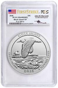 2018-Block-Island-5-oz-Silver-ATB-Beautiful-PCGS-MS69-DMPL-FS-Mercanti-SKU49855