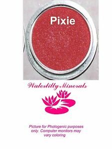 Pixie-Minerals-Shadow-Bare-Makeup-Eyeshadow-Pinky-Red-Sample-Size-New-Sealed