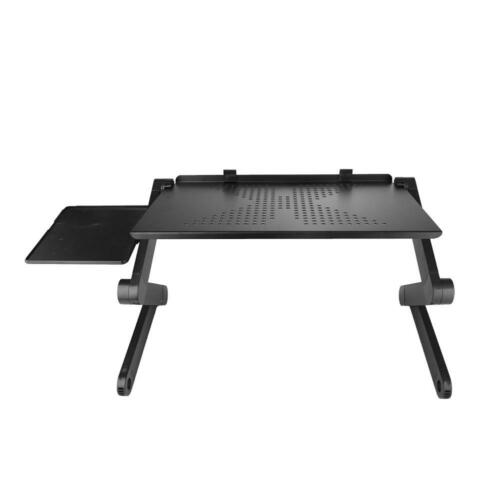 Portable Foldable Adjustable Laptop Table Folding Cooling Computer Desk