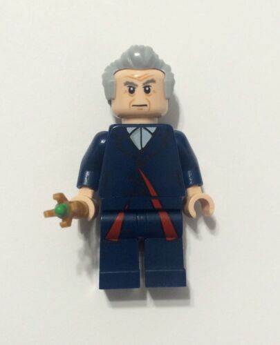 Lego WHO The Doctor Mini Figure With Sonic Screwdriver Genuine Lego Dr