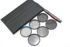 77mm IR720nm+IR850nm+IR950nm IR Infrared +ND2+ND4+ND8 ND filter set +LENS PEN
