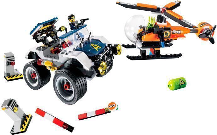 LEGO 8969  - AGENTS - 4-ruedaing Pursuit - 2009 - NO scatola  acquista marca