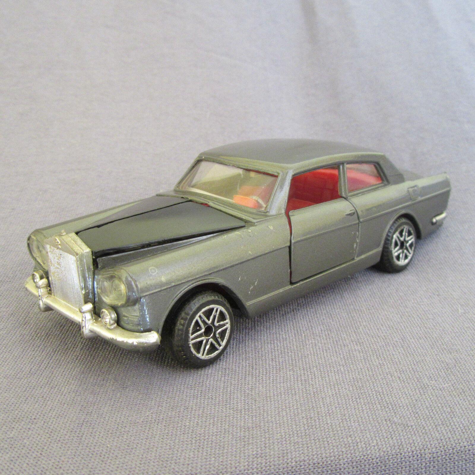 635D Vintage Politoys M 518 Rolls Royce Coupé 1 43