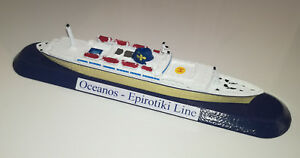 Ligne Épirotiki Grèce Modèle M / v Oceans Scala 1 1250 Navire grecque Flotta Lauro