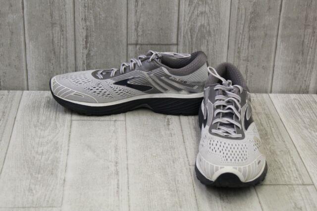 40b62567c19 Mens Brooks Adrenaline GTS 18 Size 13 White gray Athletic Running ...