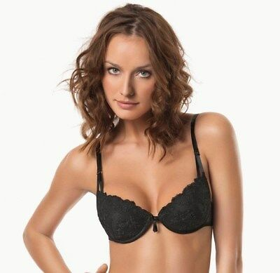 Matching Thong Available SIELEI 1518 Luxury Decorative Underwired Padded Bra