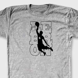c4efe4a4 Lebron James #6 Tee Jersey Cleveland Cavaliers T-shirt NBA Champion ...