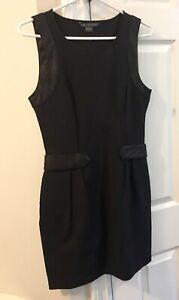 Armani-Exchange-A-X-Black-Sleeveless-Dress-8