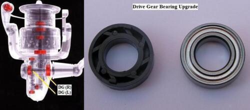 Shimano drive gear bearing upgrade AERLEX ALIVIO AERNOS CATANA ULTEGRA 1000-5000