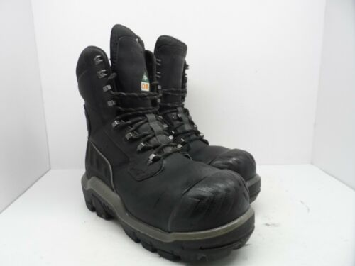 Composé en travail 410015196979 Dunlop Bottes hommes bouts 10 caoutchouc '' 8 à pour en noir cuir de 5m de PEXw4