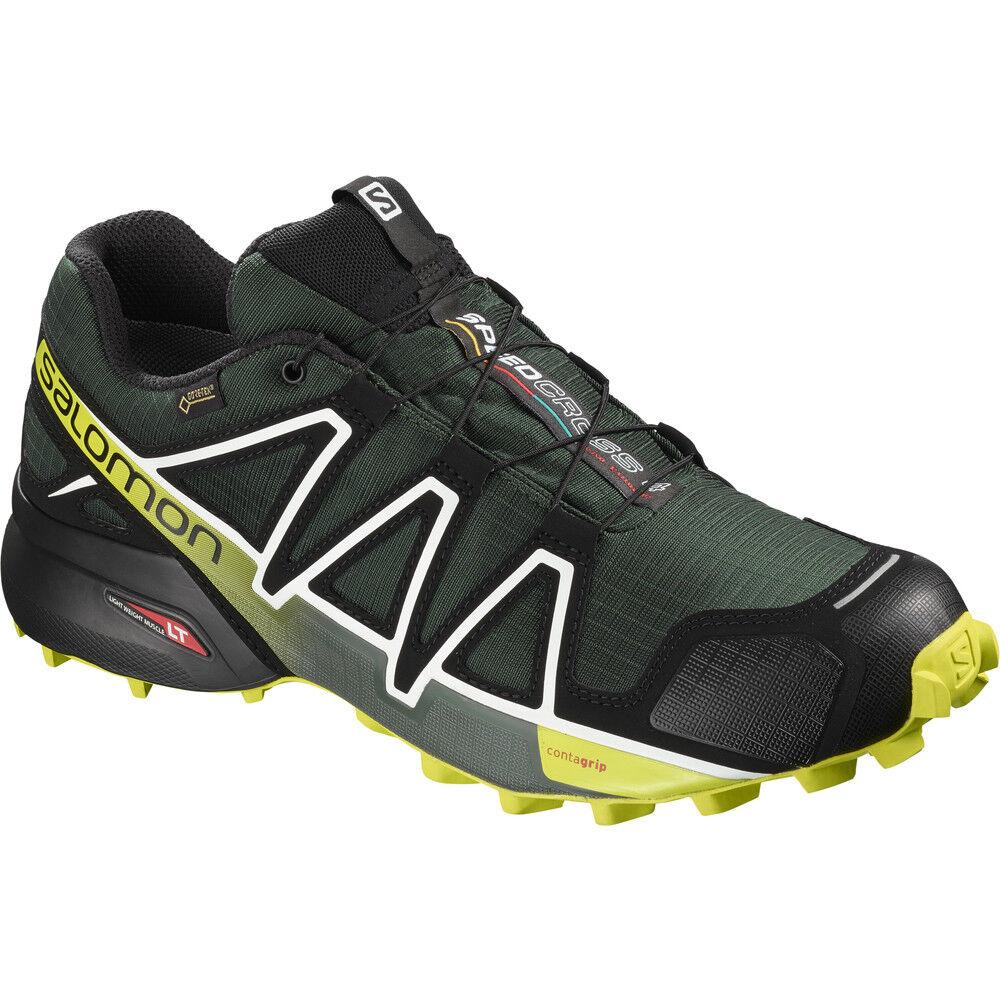 Salomon Speedcross 4 GTX Trail Running Art. 404662 Grün Größe 44 2 3 Neuf