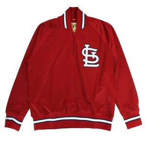 online store 9d2ee 335fd Image is loading St-Louis-Cardinals-Mitchell-Ness-1985-Authentic-Vintage-