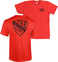 Tau Kappa Epsilon Alumni Badge Bella + Canvas Shirt Tke Fraternity More Colors