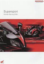 Honda Supersport Prospekt 12 05 brochure CBR 600 RR VTR 1000 SP-2 Fireblade 2005