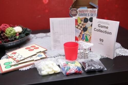 Global Gizmos 99 Games Set-Ninety Nine Games in One Handy Set