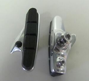Bremsschuhe für Shimano Dura Ace FelgenbremsenAlu silber1 Paar