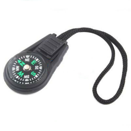 Convenient Small Creative keychain compass direction discrimination outdoor  MC