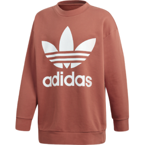 f0161a024e adidas Originals Oversize Trefoil Sweatshirt New Men's Shift Orange ...